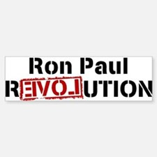 Ron Paul Revolution Large Banner Bumper Car Car Sticker