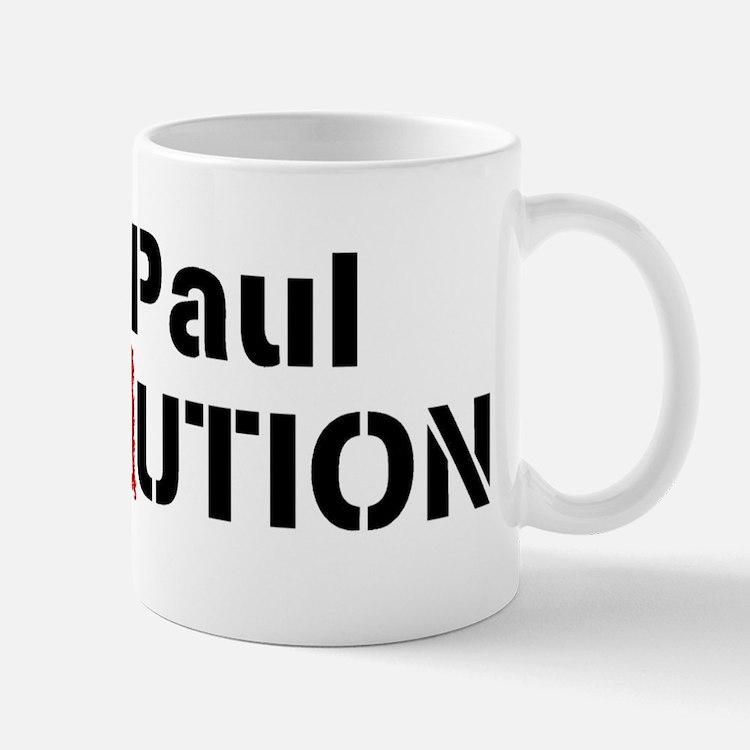 Ron Paul Revolution Large Banner Mugs