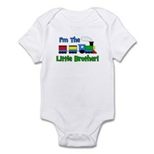 Little Brother TRAIN Infant Bodysuit