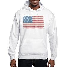 Vintage American Flag Jumper Hoody