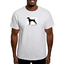 I Love My Grand Weimaraner Ash Grey T-Shirt
