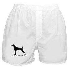 I Love My Grand Weimaraner Boxer Shorts