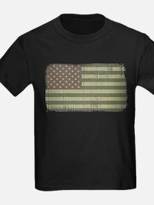 Camo American Flag [Vintage] T