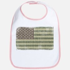 Camo American Flag [Vintage] Bib