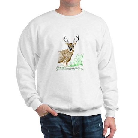 Deer with Antlers Sweatshirt