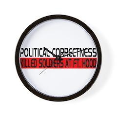 Political Correctness Kills Wall Clock