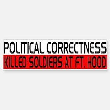 Political Correctness Kills Bumper Bumper Sticker