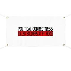 Political Correctness Kills Banner