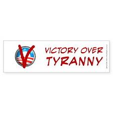 Victory Over Tyranny, Bumper Sticker