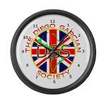 Diego Garcian Society Large Wall Clock