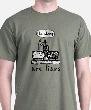 The Sheep are Liars T-Shirt