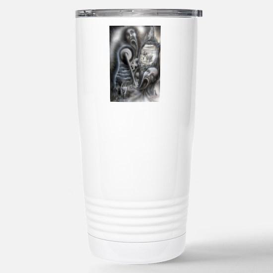 Il Morte A Macchina Stainless Steel Travel Mug