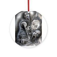 Il Morte A Macchina Ornament (Round)