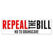 Unique Repeal the bill Bumper Sticker