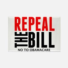 Cute Repeal the bill Rectangle Magnet