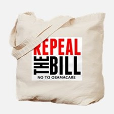 Cute Repeal the bill Tote Bag
