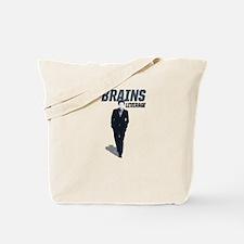 Leverage Brains Tote Bag