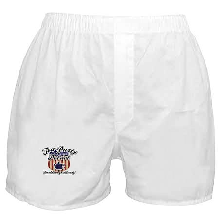 Tea Party Partiot Boxer Shorts