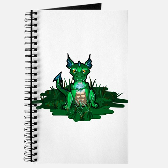 Cute Green dragons Journal