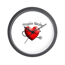 Hospice II Wall Clock