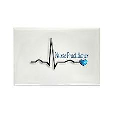 nurse practitioner Rectangle Magnet (100 pack)