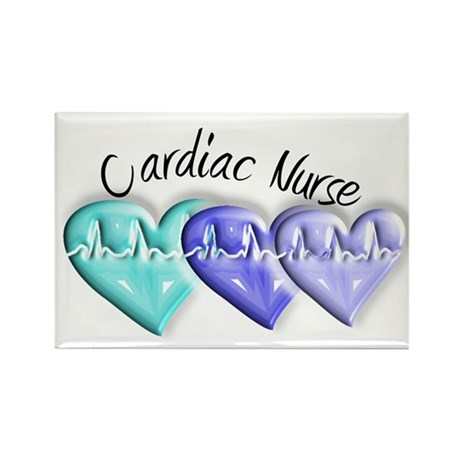 cardiac nurse Rectangle Magnet (10 pack)