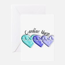 cardiac nurse Greeting Card