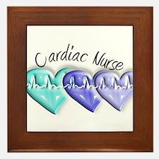 cardiac nurse Framed Tile