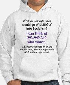 Front/Back: Who would go willingly? Hoodie