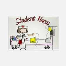 Student Nurse X Rectangle Magnet (10 pack)