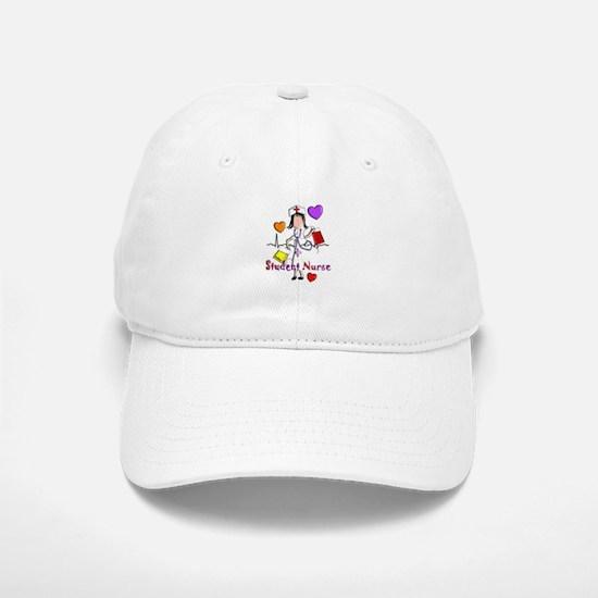 Student Nurse X Baseball Baseball Cap