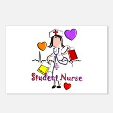 Student Nurse X Postcards (Package of 8)
