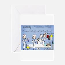 Student Nurse X Greeting Card