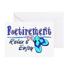 Relax & Enjoy Greeting Card