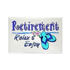 Relax & Enjoy Rectangle Magnet (10 pack)