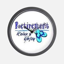 Relax & Enjoy Wall Clock