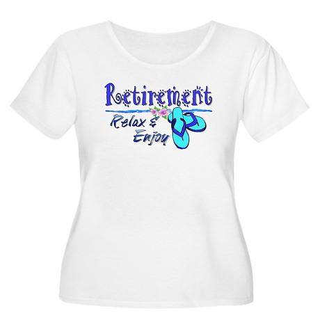 Relax & Enjoy Women's Plus Size Scoop Neck T-Shirt