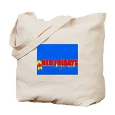 Red Friday & Cancer can be beaten Tote Bag