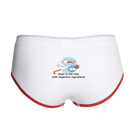 Stork Baby Argentina USA Women's Boy Brief