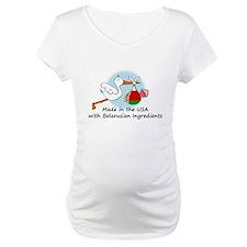 Stork Baby Belarus USA Shirt