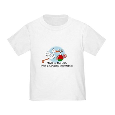 Stork Baby Belarus USA Toddler T-Shirt