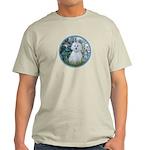 Lilies #1 - Maltese (B) Light T-Shirt