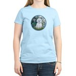 Lilies #1 - Maltese (B) Women's Light T-Shirt