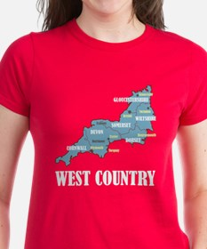 West Country Map Tee