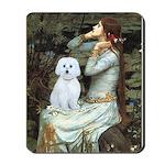 Ophelia (#1) - Maltese (B) Mousepad