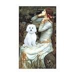 Ophelia (#1) - Maltese (B) Sticker (Rectangle)