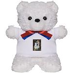 Ophelia (#1) - Maltese (B) Teddy Bear
