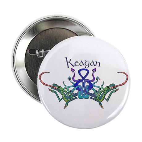 "Keagan's Celtic Dragons Name 2.25"" Button (100 pac"
