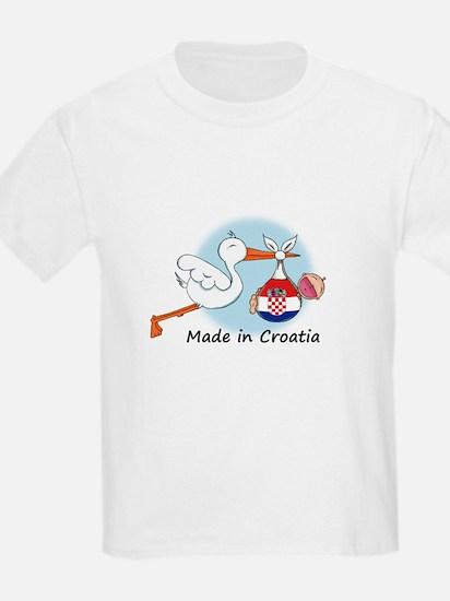 Stork Baby Croatia T-Shirt
