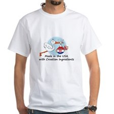 Stork Baby Croatia USA Shirt